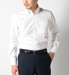 【シップス/SHIPS】SD:【ファインフィット】オックスフォードソリッドボタンダウンシャツ[送料無料]