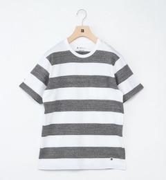 【シップス/SHIPS】SHIPSDays:ワイドボーダークルーネックTシャツ[送料無料]
