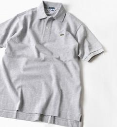 <アイルミネ> ★送料無料!LACOSTE(ラコステ):70's ドロップテイル ポロシャツ画像