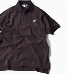 【シップス/SHIPS】 LACOSTE(ラコステ):【SHIPS別注】70's ドロップテイル ポロシャツ [送料無料]