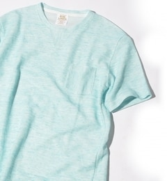 【シップス/SHIPS】 SHIPS JET BLUE: リネン ポケットTシャツ [3000円(税込)以上で送料無料]
