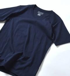 【シップス/SHIPS】 SHIPS JET BLUE: NEW カリフォルニア Vネック Tシャツ [3000円(税込)以上で送料無料]