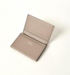 【シップス/SHIPS】 SD: 【SAFFIANO LEATHER】 カードケース (名刺入れ) [送料無料]