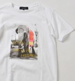 【シップス/SHIPS】 SHIPS JET BLUE: チルドレンフラワーフォトTシャツ [送料無料]