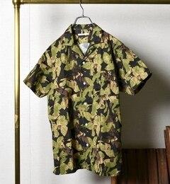 【シップス/SHIPS】 SC: ボタニカルプリント オープンカラー アロハシャツ [送料無料]