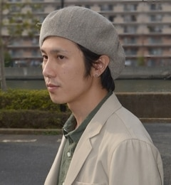 【シップス/SHIPS】 SHIPS JET BLUE: リネン ベレー帽 【MADE IN JAPAN】 [送料無料]