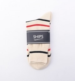 【シップス/SHIPS】 ANONYMOUS: ランダム ボーダー柄 ソックス [3000円(税込)以上で送料無料]