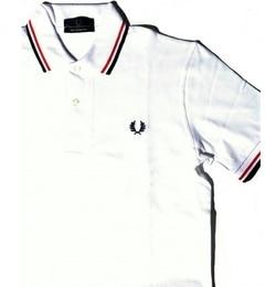 <アイルミネ> ★送料無料!FRED PERRY: イギリス製 M12 ポロシャツ画像