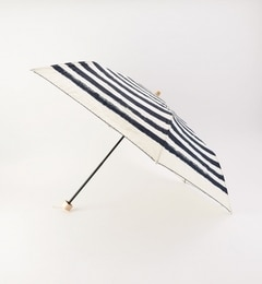 【シップス/SHIPS】 w.p.c(ダブリュー・ピー・シー):ペイントボーダー柄 折りたたみ傘 [送料無料]