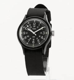 TIMEX: オリジナル キャンパー ブラック【シップス/SHIPS 腕時計】