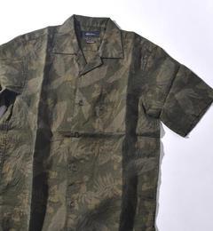 【シップス/SHIPS】 SHIPS JET BLUE: オーバーダイ キャンプカラーシャツ [送料無料]