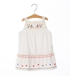 <アイルミネ> シップス厳選 SHIPS KIDS:花柄刺繍 サンドレス(80〜90cm) [送料無料]画像