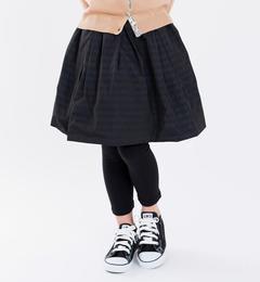 【シップス/SHIPS】 SHIPS KIDS:リバーシブル タフタ スカート(100?130cm) [送料無料]