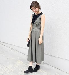 【シップス/SHIPS】 Khaju:2WAYホルタージャンパースカート [送料無料]