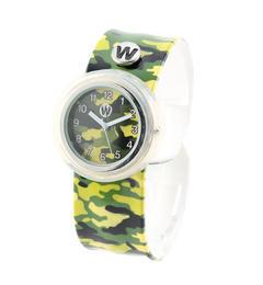 <アイルミネ> ★送料無料!watchitude:パッチン腕時計(CAMOUFLAGE)画像