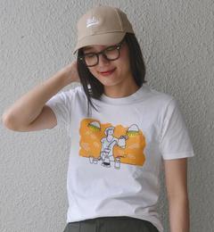SHIPS Days: プリント TEE 6 (WOMEN)【シップス/SHIPS レディス Tシャツ・カットソー ストーン ルミネ LUMINE】