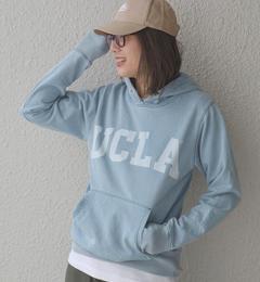 【シップス/SHIPS】 UCLA(ユーシーエルエー):インディゴ フーディー [送料無料]