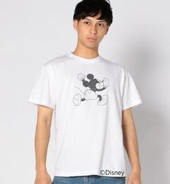 【シップス/SHIPS】 SHIPS BLUESTORE/ミッキーマウス TEE white MEN [3000円(税込)以上で送料無料]
