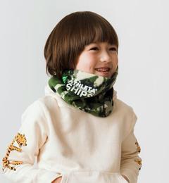 <アイルミネ> ATHLETA★★★SHIPS KIDS:カモフラージュ ネックウォーマー画像