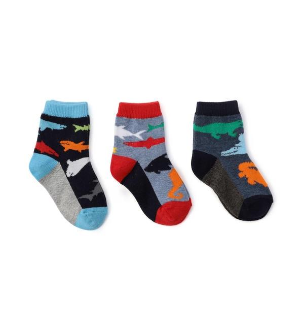 【シップス/SHIPS】 Jefferies Socks:アニマル ソックス