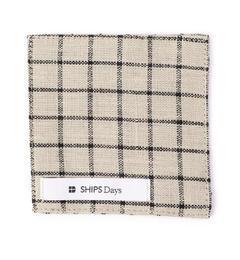 【シップス/SHIPS】 fog linen work×SHIPS Days: リネン コースター [3000円(税込)以上で送料無料]