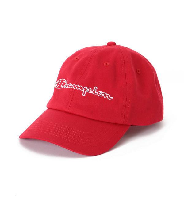 【シップス/SHIPS】 Champion×SHIPS JET BLUE: 別注 スクリプトロゴ ツイルキャップ [送料無料]