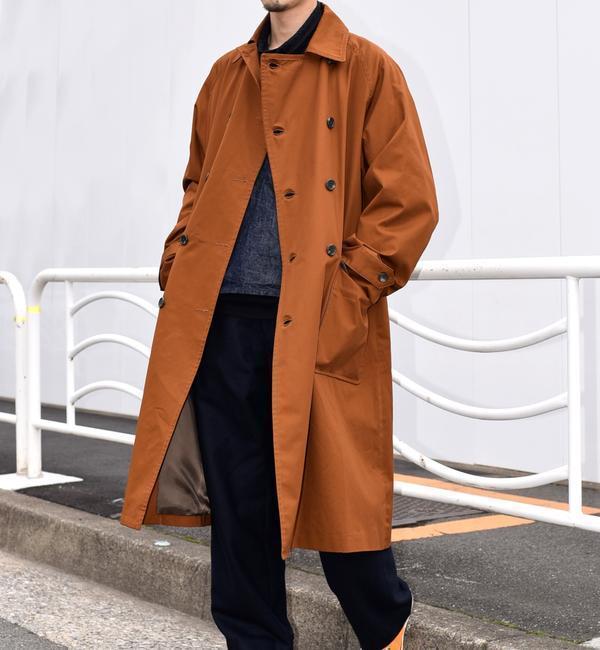 SU: オーバートレンチコート【シップス/SHIPS メンズ その他(アウター) キャメル ルミネ LUMINE】