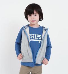 <アイルミネ>【シップス/SHIPS】 SHIPS KIDS:フード ジップ ベスト(100〜130cm) [送料無料]画像