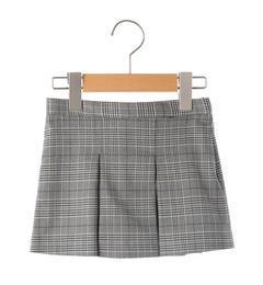 <アイルミネ> シップス厳選 SHIPS KIDS:グレンチェック スカート(90cm) [送料無料]画像