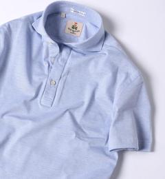 <アイルミネ>【シップス/SHIPS】 GUY ROVER: カノコ カッタウェイ カラー ポロシャツ画像