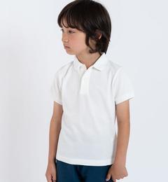<アイルミネ> シップス厳選 SHIPS KIDS:半袖 鹿の子 ポロシャツ(100〜130cm) [送料無料]画像