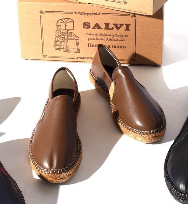 【シップス/SHIPS】 SALVI: フェイクレザー エスパドリーユ