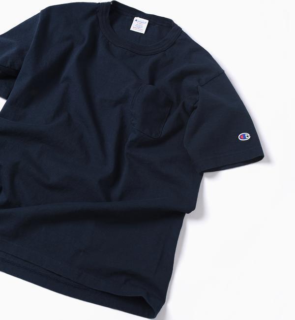 【シップス/SHIPS】 Champion: MADE IN USA T1011 ポケット Tシャツ [送料無料]