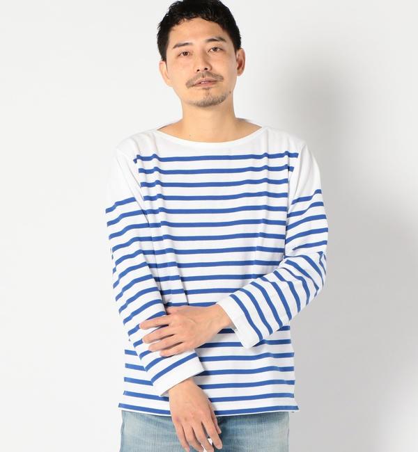 【シップス/SHIPS】 ARMOR LUX(アルモーリュクス): BASQUE SHIRT バスク シャツ
