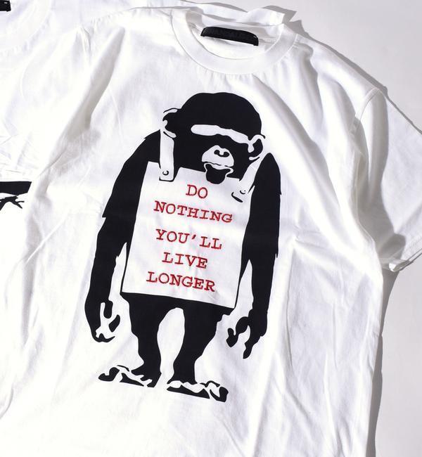 【シップス/SHIPS】 BRANDALISED: 【BANKSY】 EMB Tシャツ [送料無料]