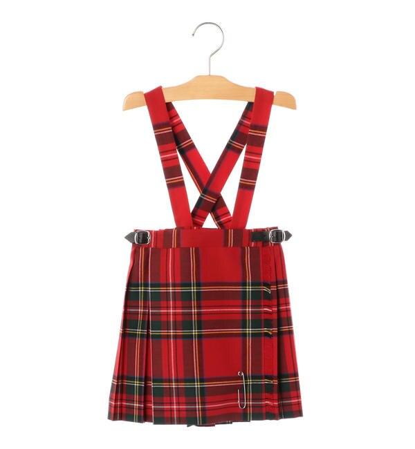 【シップス/SHIPS】 ONEIL OF DUBLIN:サマーウール キルト スカート(100?130cm)