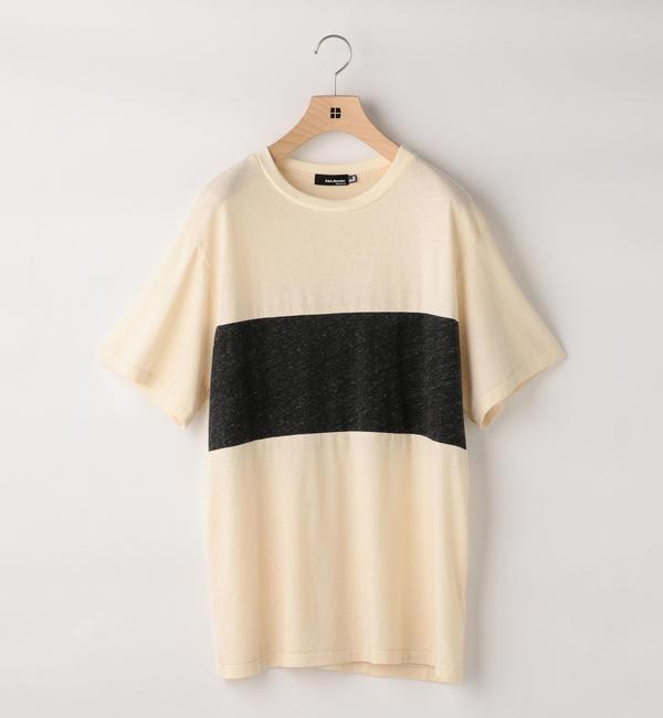 【シップス/SHIPS】 CAL.Berries:パネル ボーダーTシャツ [送料無料]