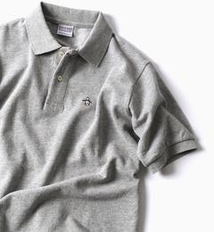 <アイルミネ>【シップス/SHIPS】 MUNSINGWEAR: 別注 MADE IN USA 70'S 復刻 ポロシャツ(グレー)画像