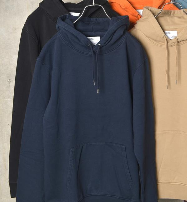 【シップス/SHIPS】 COLORFUL STANDARD: ORGANIC フーディー
