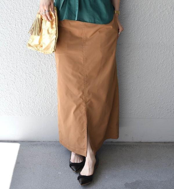 【シップス/SHIPS】 タスランツイルタイトスカート◇'s image