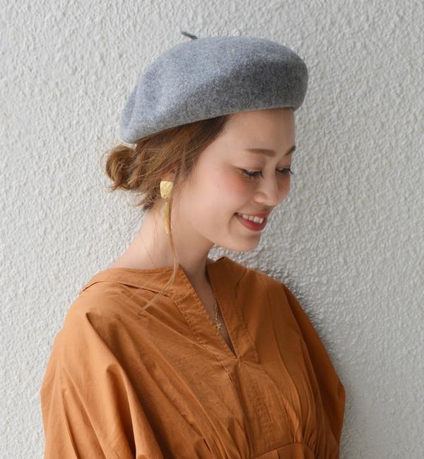 【シップス/SHIPS】 ウールベレー帽◇