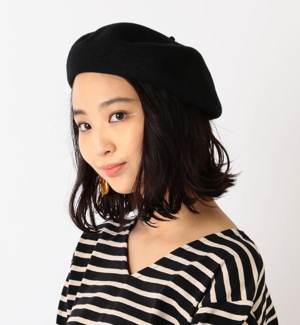 【シップス/SHIPS】 ウールベレー帽◇'s image