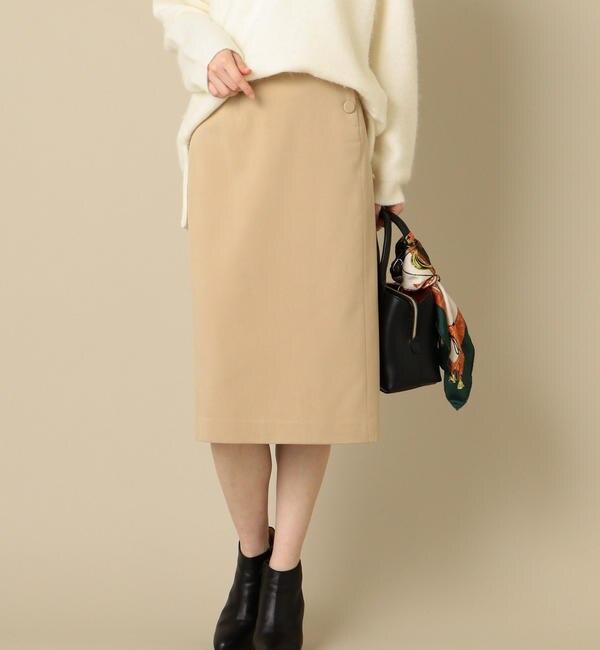 【シップス/SHIPS】 【セットアップ対応可能】ボタンスカート's image