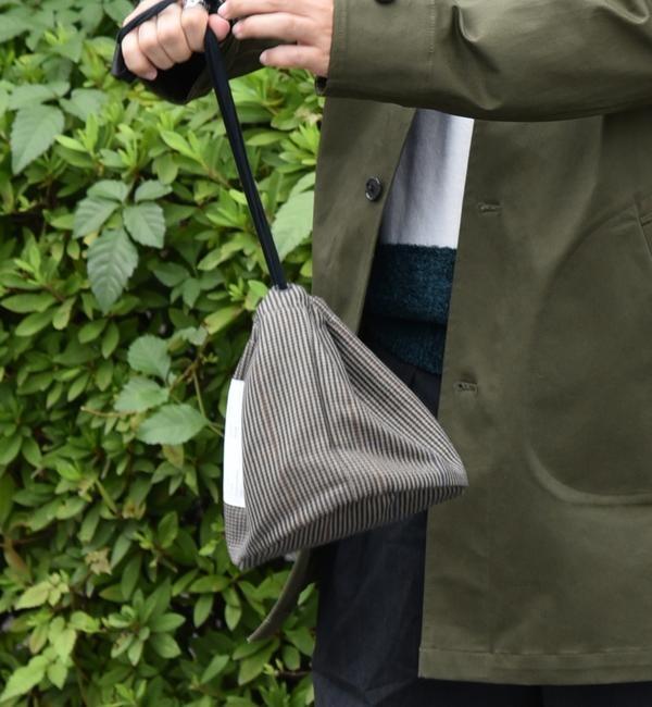 【シップス/SHIPS】 20/80: エクスクルーシブ チェック巾着バッグ