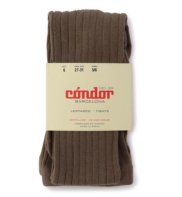 【シップス/SHIPS】 condor:ワイドリブ ベーシック タイツ(100?130cm)