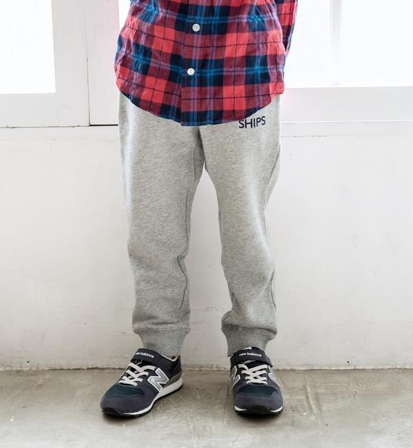 【シップス/SHIPS】 SHIPS KIDS:ロゴ スウェット パンツ(100?130cm)