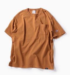 <アイルミネ> Champion×SHIPS: 別注 ガーメントダイ ポケット Tシャツ <MADE IN USA/T1011>画像