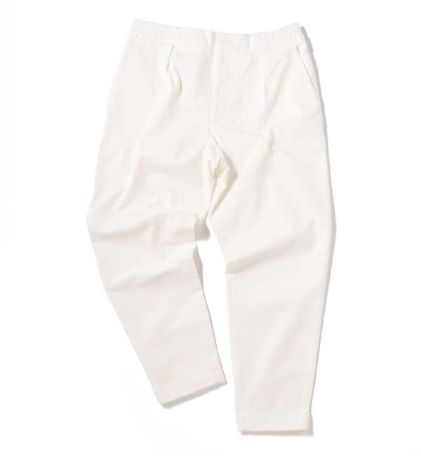 【シップス/SHIPS】 BARENA: WIDE TAPERED TWILL EASY PANTS