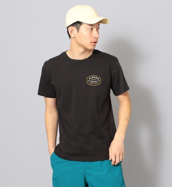 【シップス/SHIPS】 ALMOND SURF:プリントTシャツ