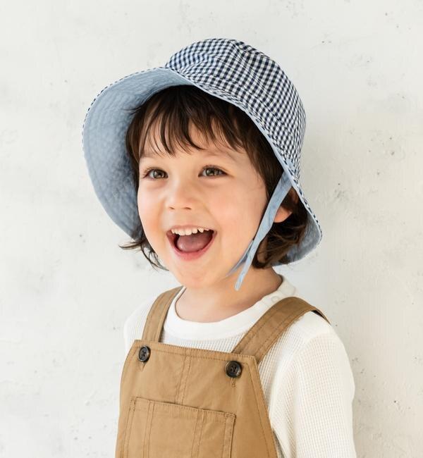 dc848268b6a10 SHIPS KIDS ベビー リバーシブル フラワー ハット(帽子) シップス(SHIPS ...